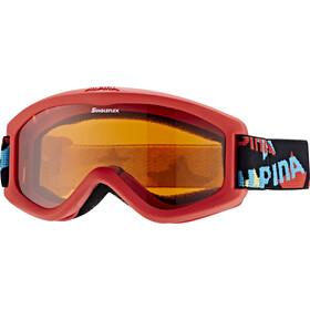 Alpina Carvy 2.0 Beskyttelsesbriller Børn, rød/farverig